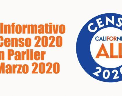 Foro Informativo del Censo 2020 en Parlier 25 Marzo 2020 CVIIC