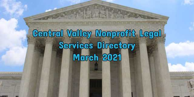 Central Valley Immigration Legal Services Directory CVIIC