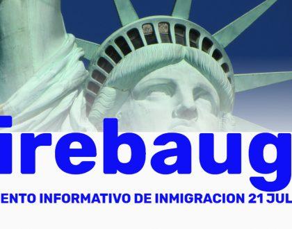 Evento Informativo de Inmigración Firebaugh 21 Julio 2021 cviic