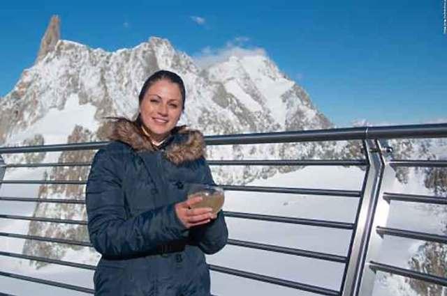 La Sfida a colpi di shaker sul Monte Bianco