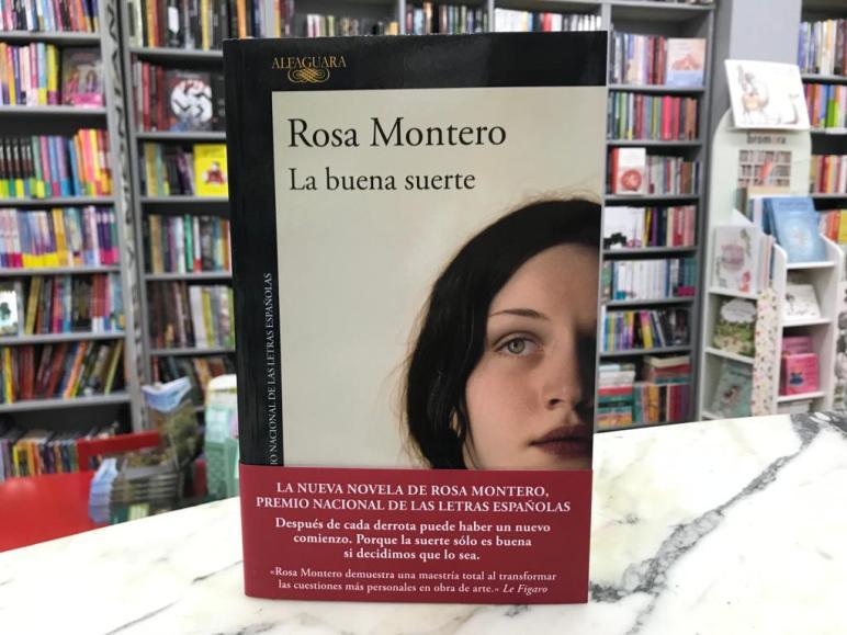 """La buena suerte"""" de Rosa Montero - Valle de Elda"""