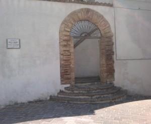 Portale Palazzo Rubini