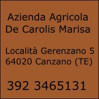 Azienda Agricola De Carolis Marisa