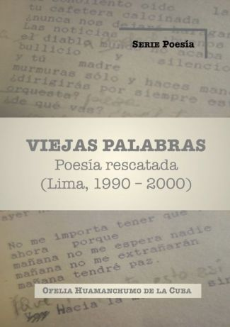 cover A VIEJAS PALABRAS