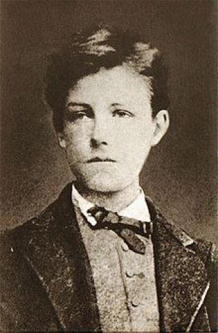 Foto retrato del Niño terrible, el poeta Arthur Rimbaud. 1872