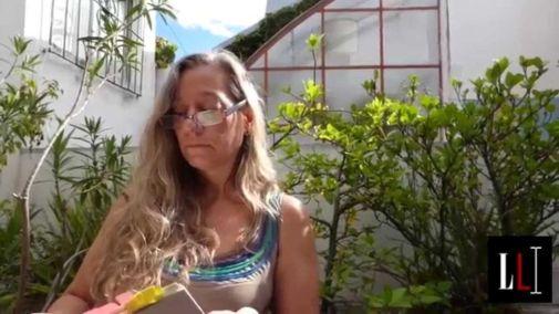 La poeta María Malusardi