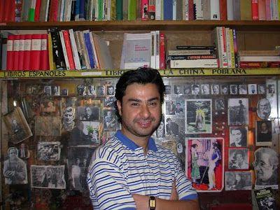 El poeta David Bustos