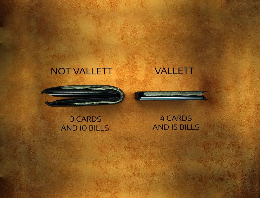 Vallett Men's Slim Wallet
