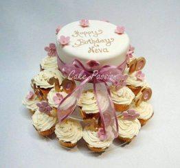 B267 Pretty Cupcakes