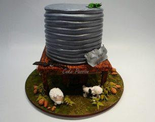 B365 Water Tank Cake
