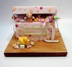 CB143 Toy box Girl