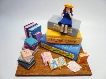 CB189 Madeline School Girl cake