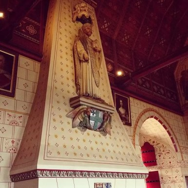 Castell Coch Fireplace
