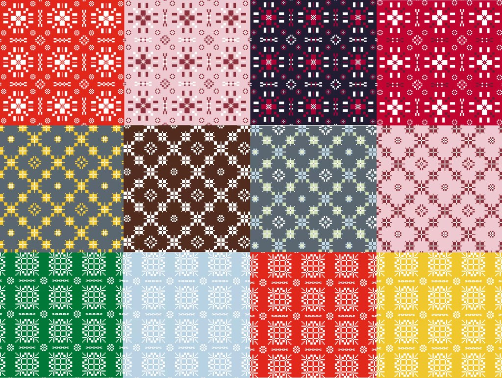 Valley Mill Tapestry Patterns