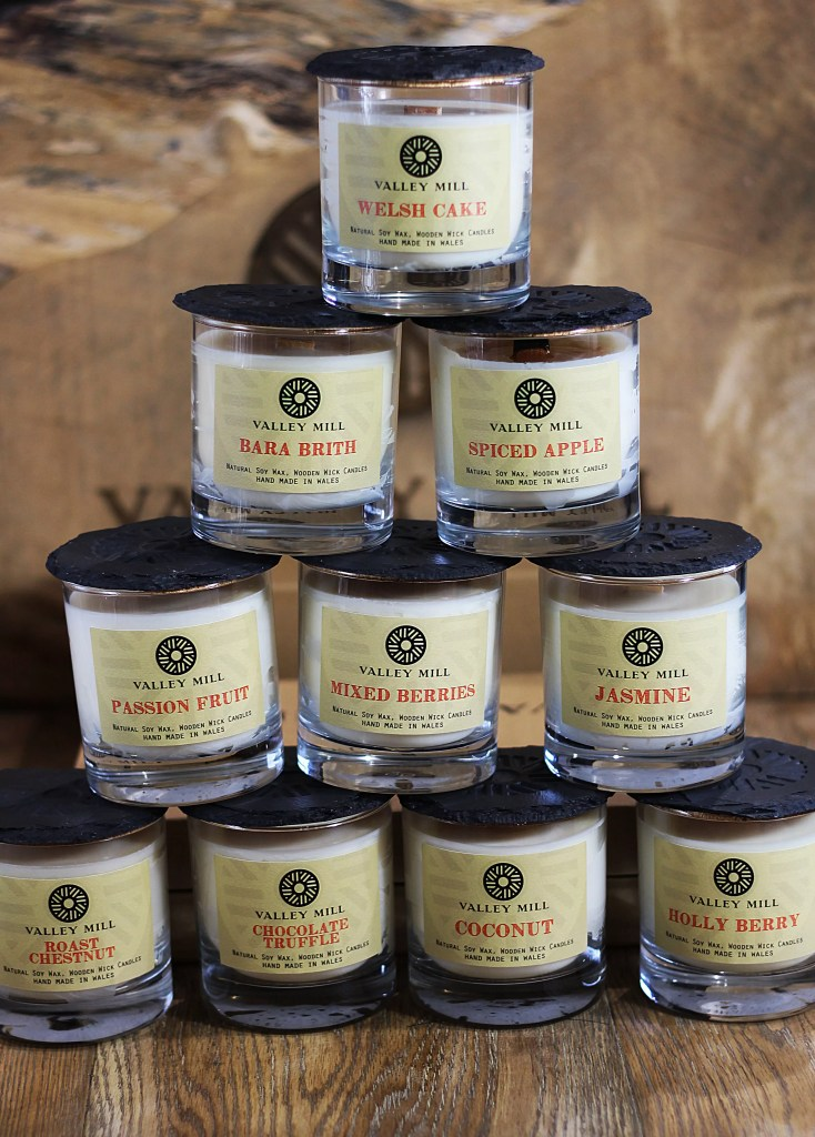 Valley Mill Natural Soy Wood Wick Candles
