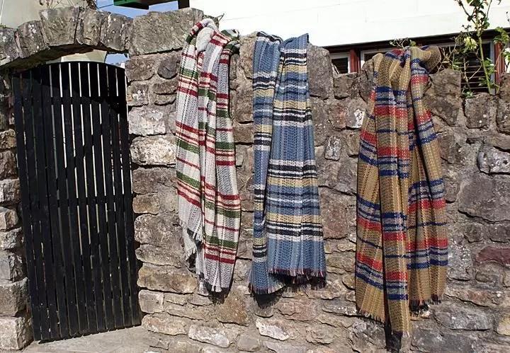 Random Recycled Wool Throws