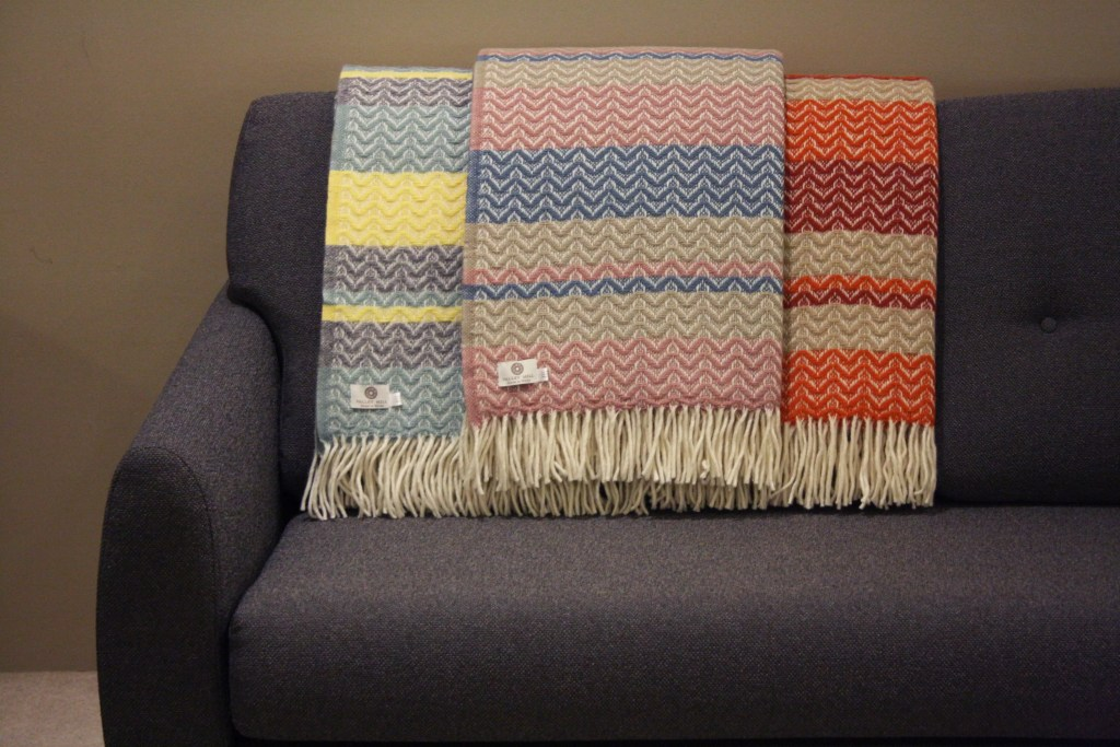 Pure New Wool Welsh Blankets