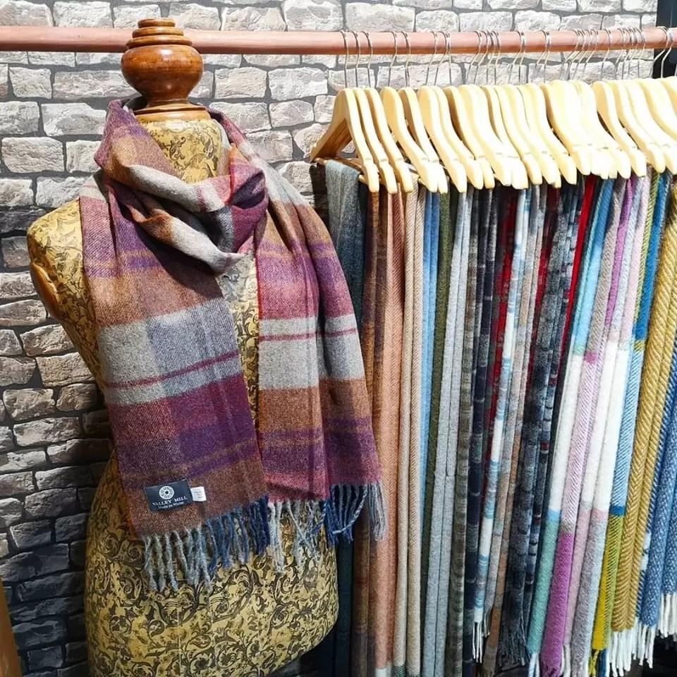 Valley Mill Welsh Woolen Scarves