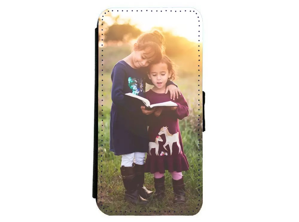 Samsung S8 photo flip phone case Father's day gift