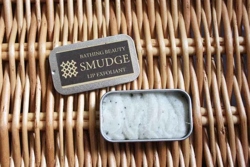 Smudge Natural Lip Scrub Exfoliant