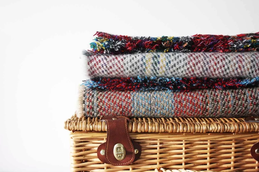 Recycled Wool Throws