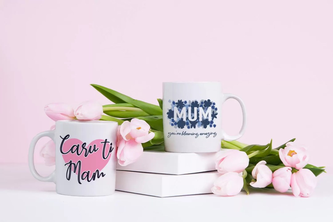 Mother's Day Printed Ceramic Mug Gifts For Mum