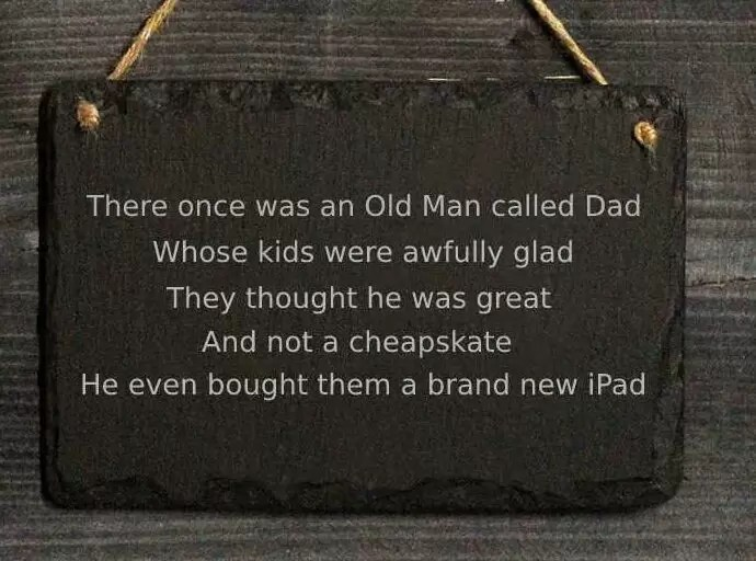 Write a poem for your Dad for Father's Day