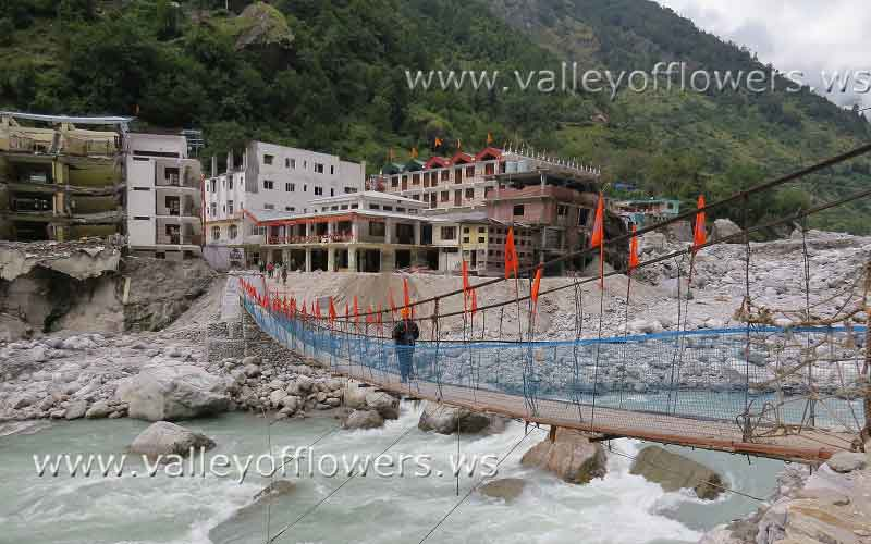 Newly constructed Bridge at Govindghat
