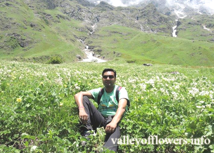 Picture taken by our group gone on 4th July, 2015 to Valley of Flowers