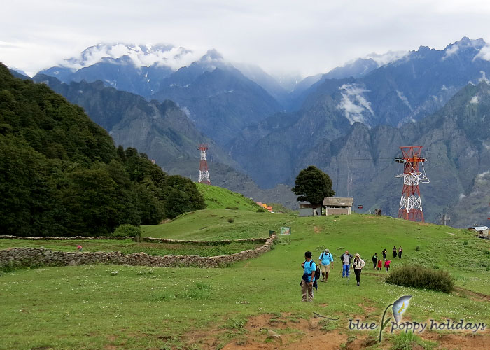 Auli and Gorsan Peak Picture
