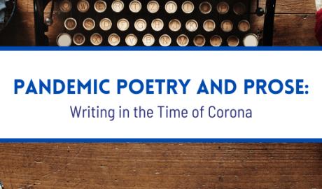 Writing in the time of Corona