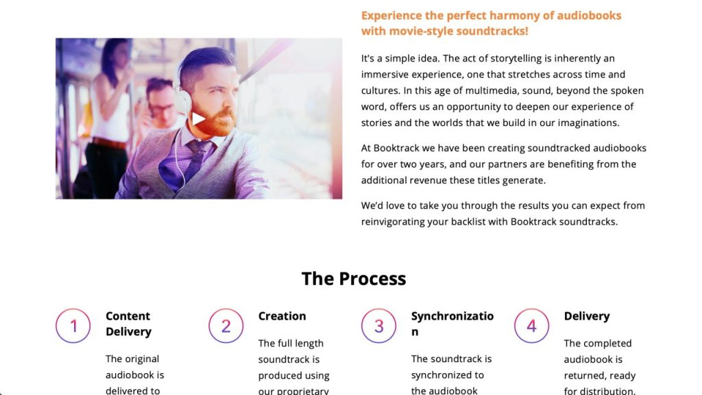 Booktrack - The Process