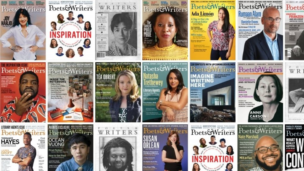 Selected Poets and Writers Magazine Covers