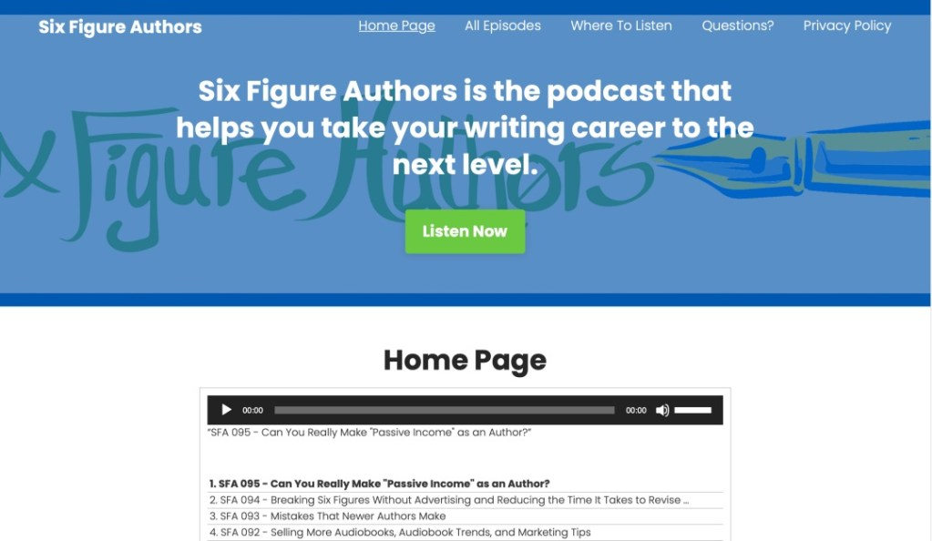 Sixi Figure Authors website screenshot