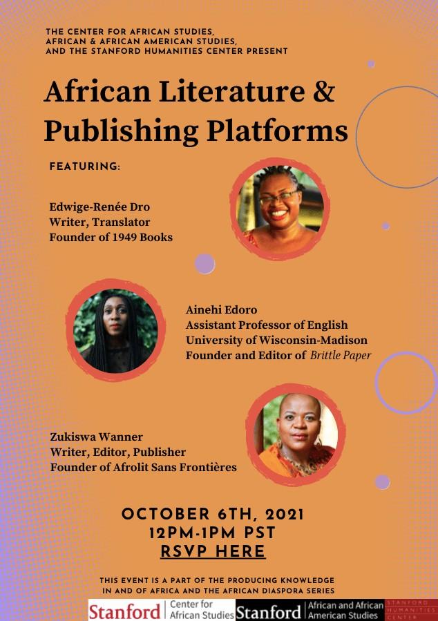 African Literature & Publishing Platforms