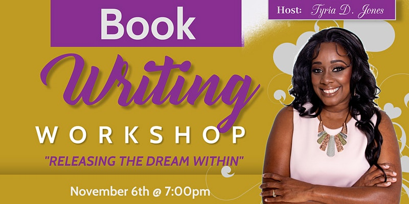 Book Writing Workshop with Tyria D. Jones
