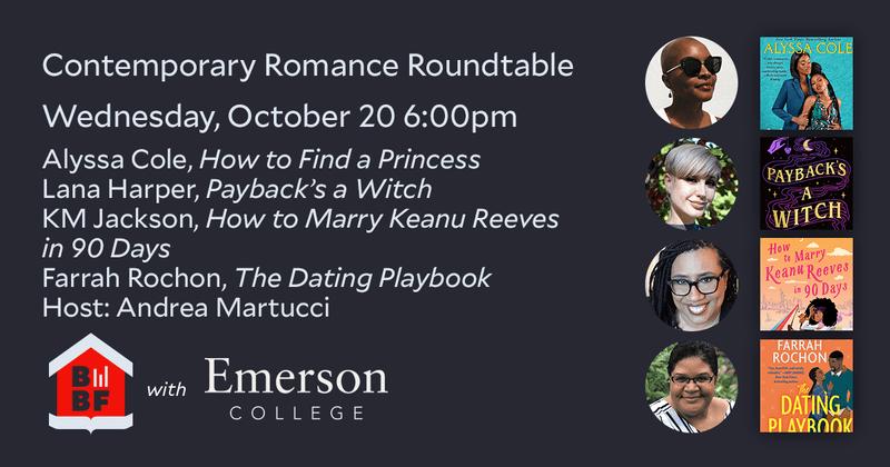 Boston Book Festival- Contemporary Romance Roundtable