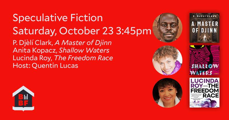 Boston Book Festival- Speculative Fiction