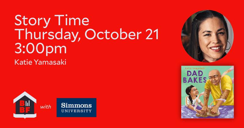 Boston Book Festival- Story Time- Katie Yamasaki