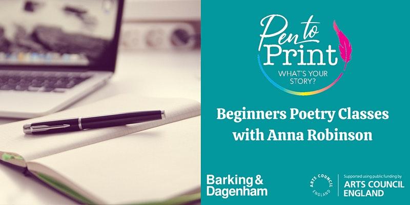 Pen to Print- Beginners Poetry Classes