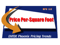 price per square foot in the Phoenix Housing Market