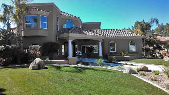 image of a luxury home in a gated community that became a Metro Phoenix real estate investment