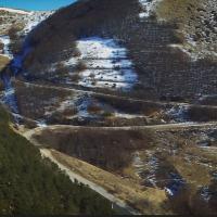 Sisma, riapre la strada di Pian Perduto tra Castelsantangelo sul Nera e Castelluccio
