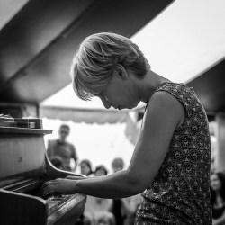 Riitta Paakki Kalottjazz & Blues -festivaalilla 2006