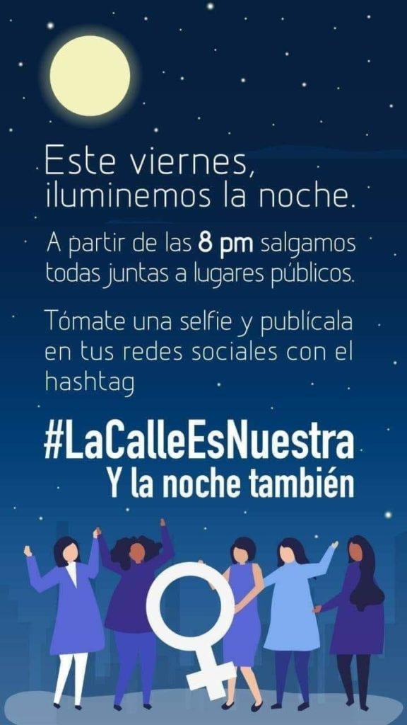 Iniciativa en redes sociales #LaCalleEsNuestra