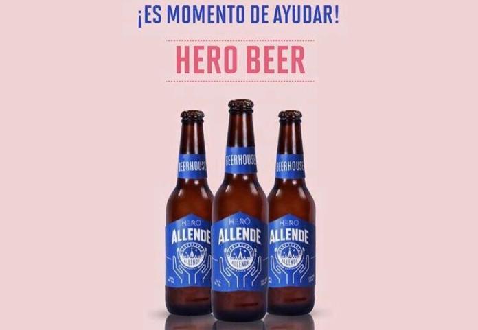 Allende presenta Hero Beer