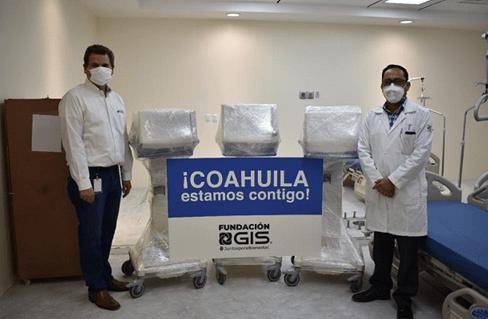 Grupo Industrial Saltillo dona artículos médicos
