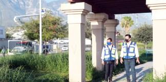 Gobierno de Santa Catarina sigue con trabajo de limpieza de áreas verdes