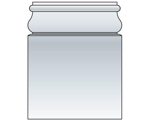 SQR Classic Box Cap/Base