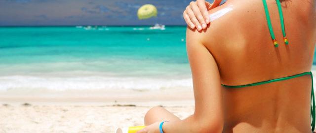 cuidados com a pele no verão